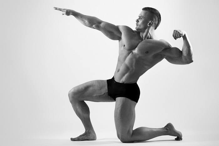 man-posing