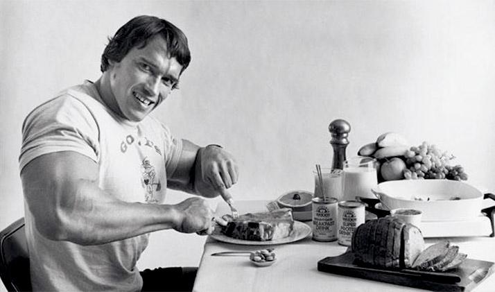 Arnold-Schwarzenegger-diet