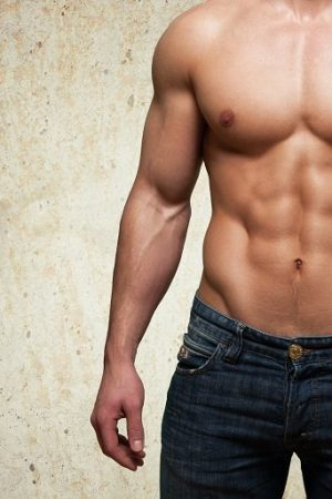 Men with abs