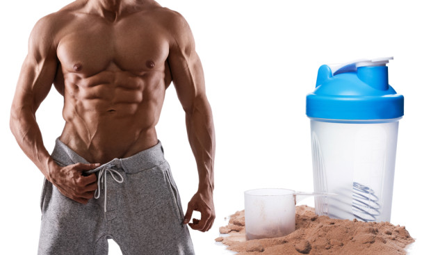 man-with-muscle-and-whey-protein